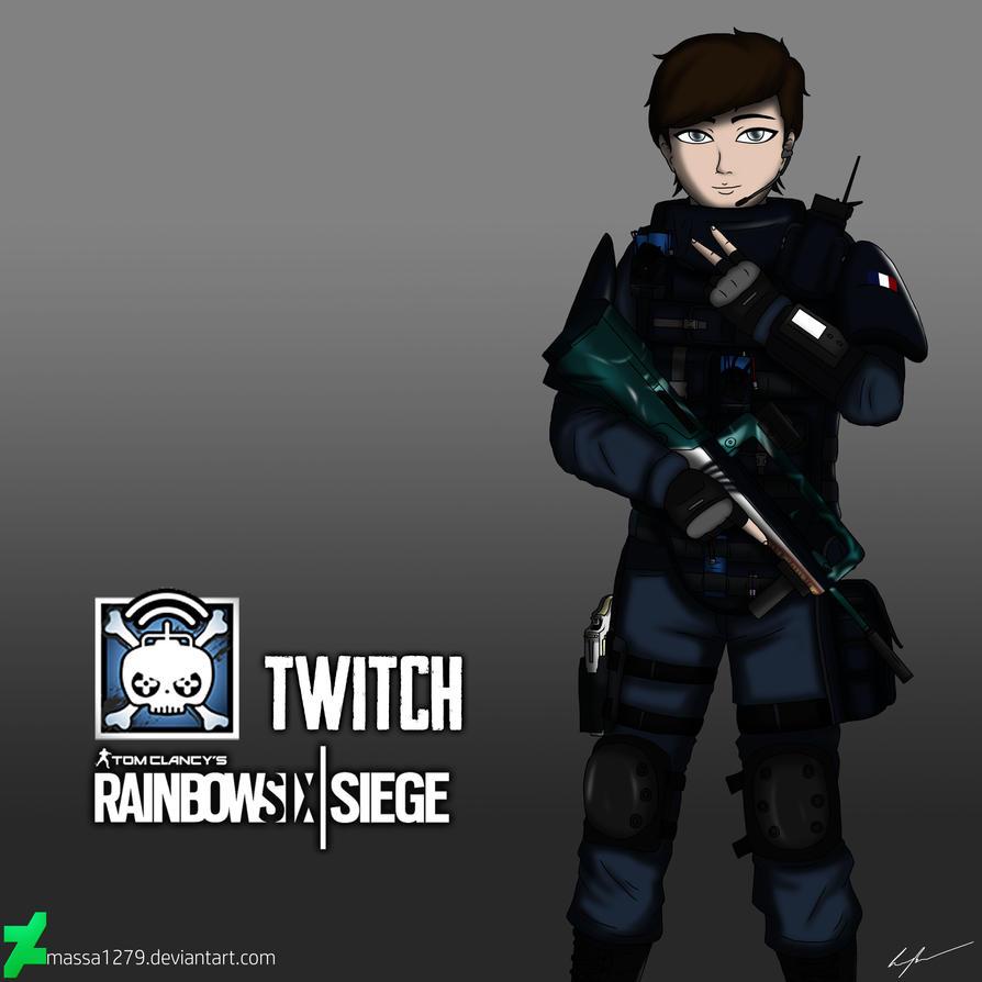 Rainbow 6 Siege Twitch by SkizzleBoots | Rainbow six siege