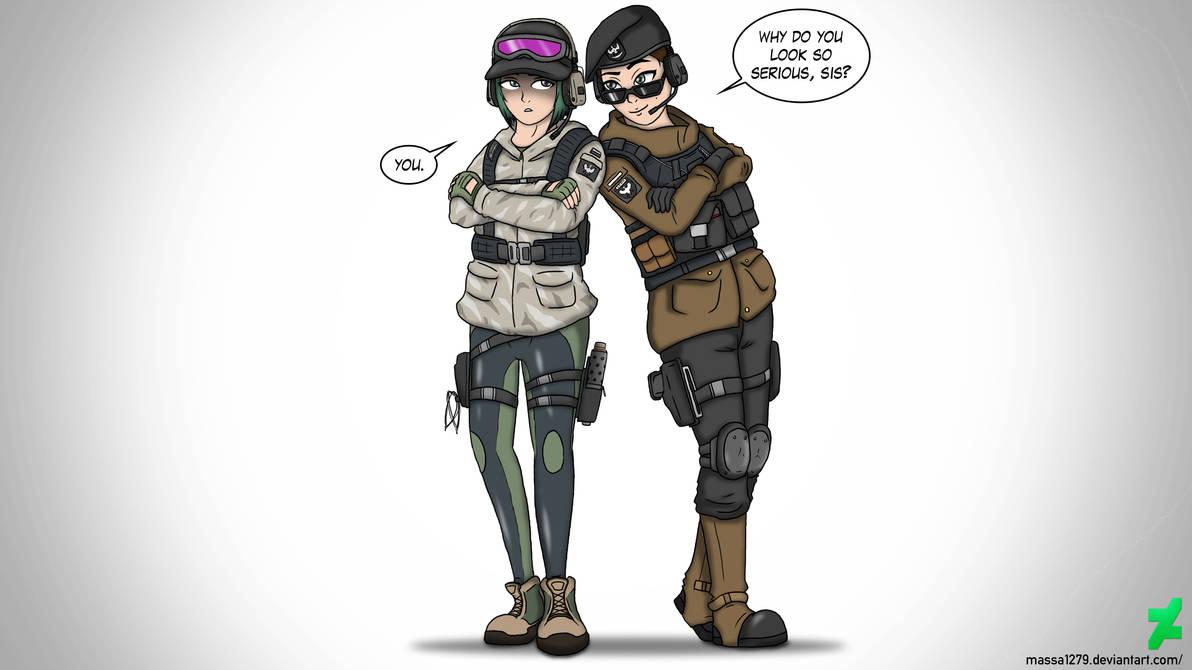 Ela Rainbow Six Siege Wallpaper: Rainbow Six Siege - Ela And Zofia