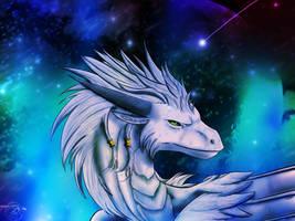 Scarmak Dragon Form by Ahrikima
