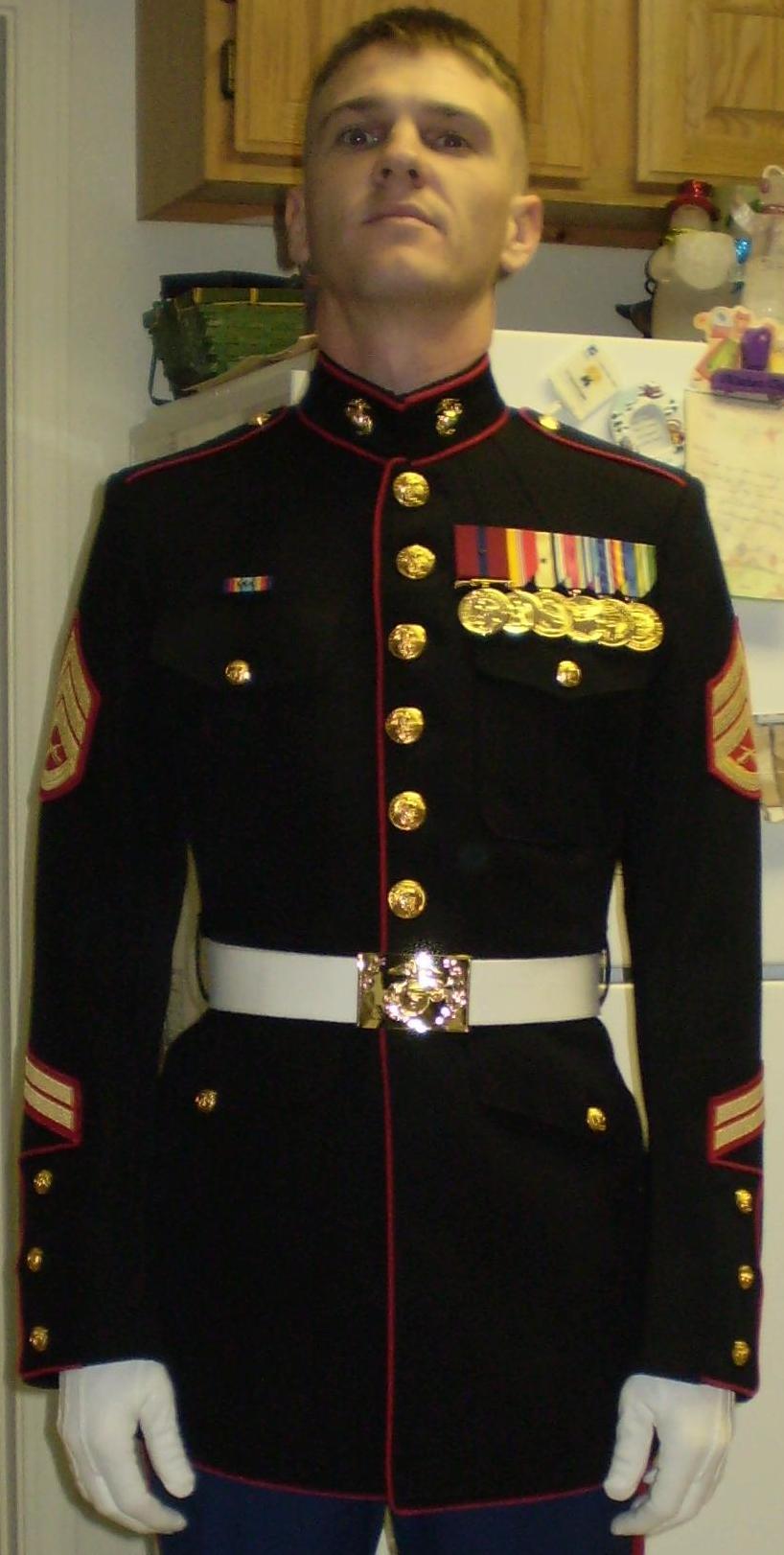 Marine In Dress Uniform 116