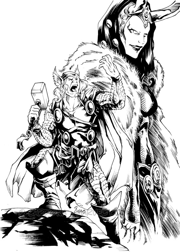 Part 14 / 9 - Page 2 Thor_and_Loki_by_dekarogue