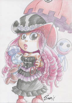 Watercolor Commission PERONA V2
