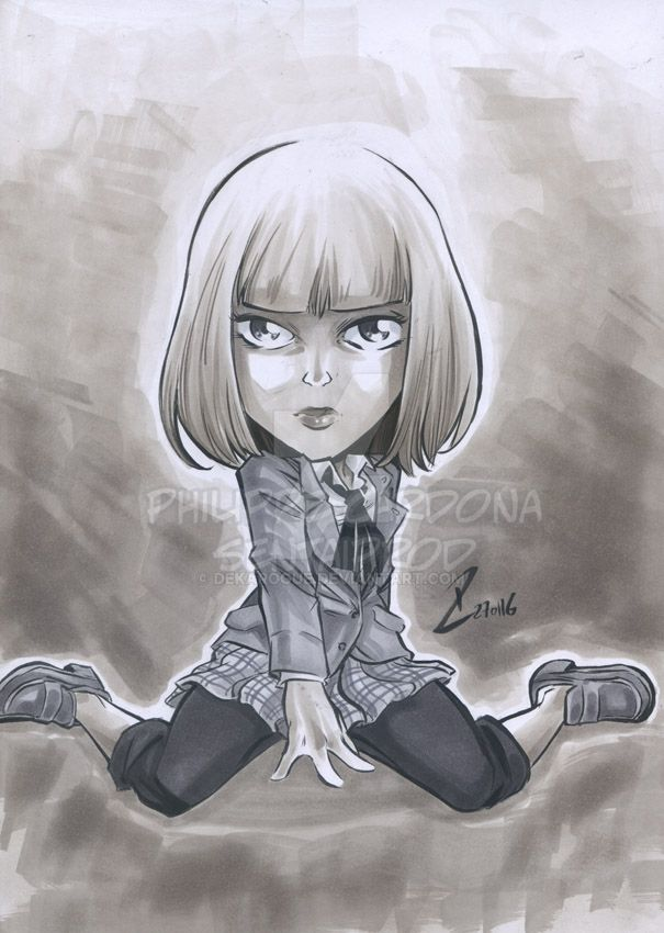 Grey Markers Hana from Prison School by dekarogue