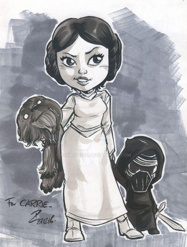 Princess Carrie by dekarogue