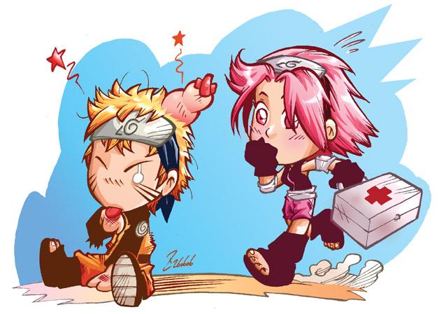 naruto and sakora Naruto_and_sakura_SDs_by_dekarogue