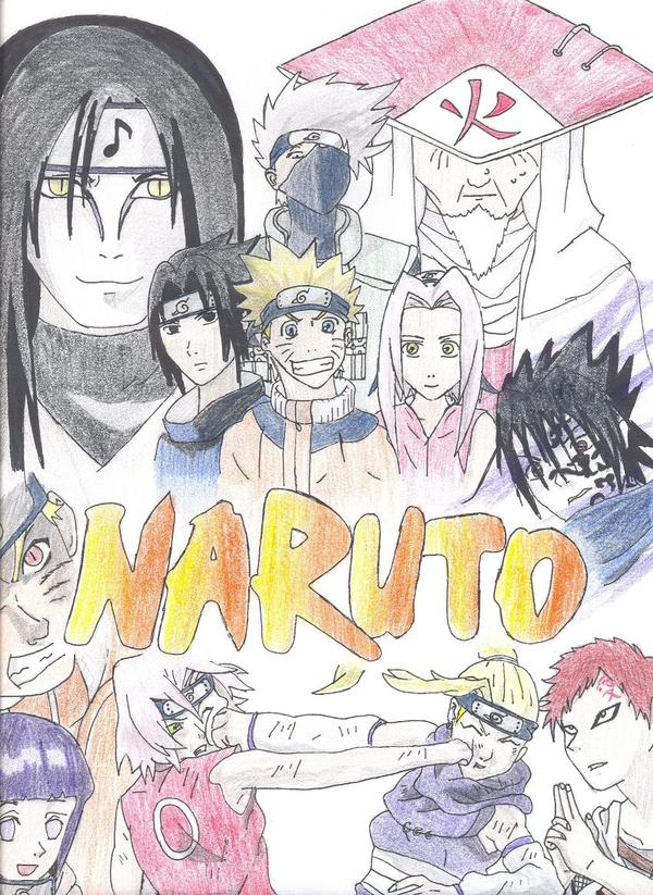 Naruto mural by issolatedsound on deviantart for Mural naruto