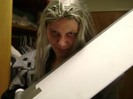 Sephiroth smirk 2 by cyberelf2029