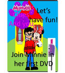 Minnies clues and you lets have fun DVD