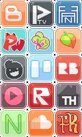 Social Media Buttons [6]