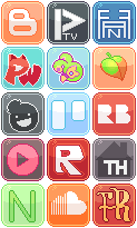 Social Media Buttons [6] by RevPixy