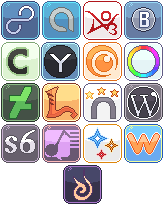 Social Media Buttons [7] by RevPixy