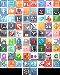 Itty Bit Logo Buttons 1 by RevPixy