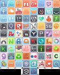 Itty Bit Logo Buttons 1