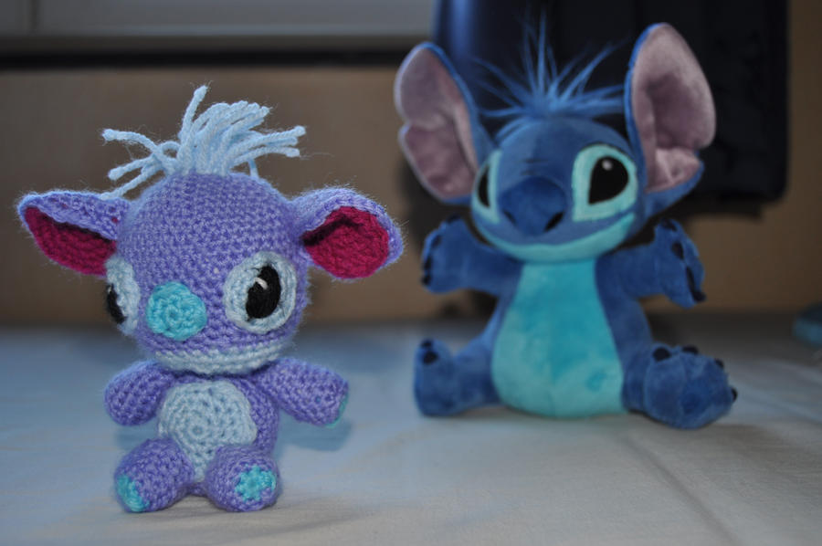 Stitch Amigurumi Doll Pattern : stitch amigurumi by Michiresu on DeviantArt