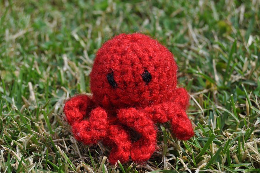 Crochet Church Purse Doll Pattern : mini octopus amigurumi by Michiresu on deviantART