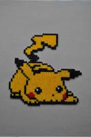Pikachu perler by Michiresu