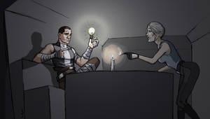 Panne d'electricite? by LEX-graph
