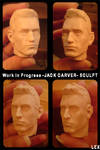WIP JACK CARVER FIGURE by LEX-graph