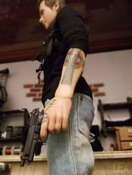 Connor's tattoos