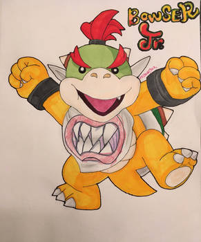 Bowser Jr., the Spoiled Prince