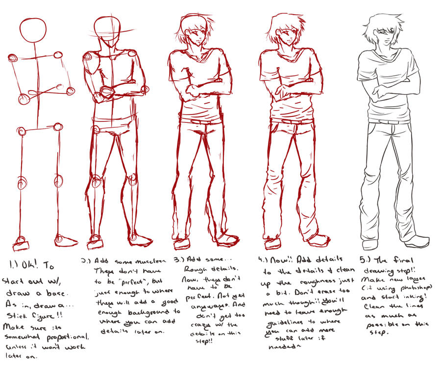 Crappy Basic Drawing Tutorial by Kit-Benzworthy on DeviantArt