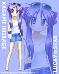 Lucky Star Kagami Hiiragi