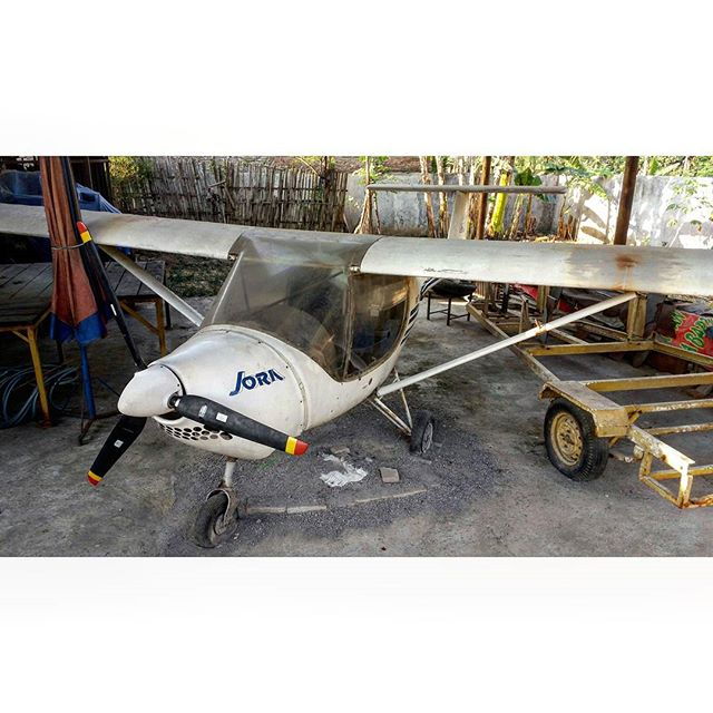 Jora abandoned small Aircraft by Pro-lensandmoments