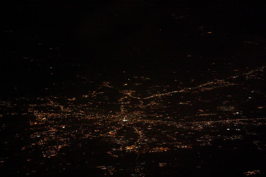 Above: Nightlights