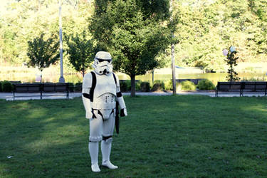 Lone Trooper by TheBishounen55