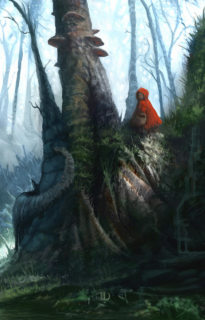 Little Red Riding Hood_01 by ourlak