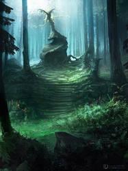 Au milieu des bois...