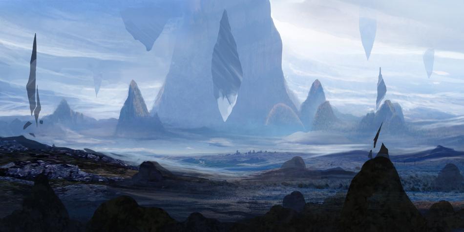 Alien Terrain by ourlak