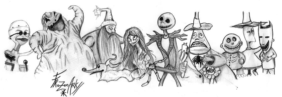 Nightmare Before Christmas by FrozenArk on DeviantArt