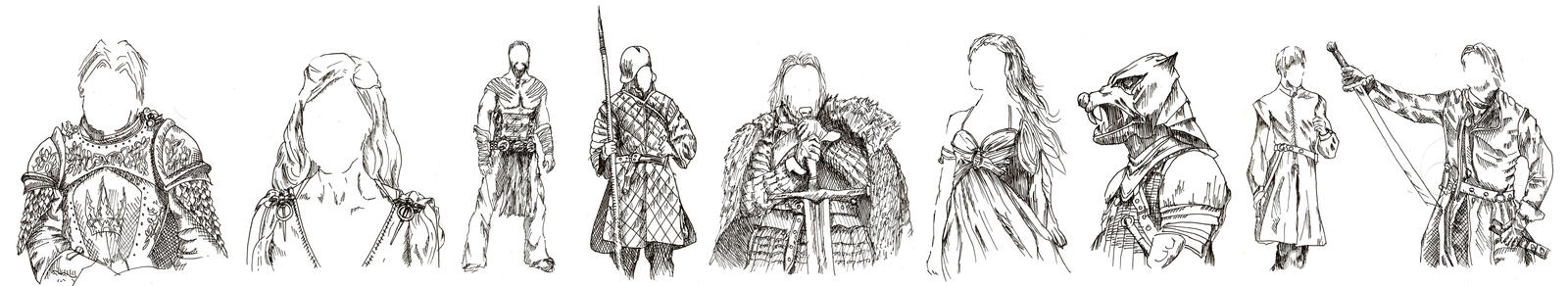 The Fashion in Game Of Thrones by FrozenArk