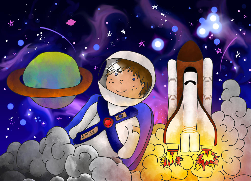 Astronaut - Strap in! by FrozenArk