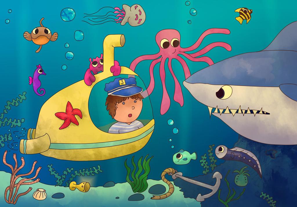 Deep Sea Adventure by FrozenArk