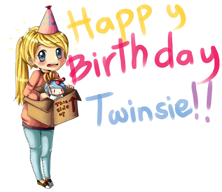 Birthday Giftie for Twinsie! c: by xJewiex