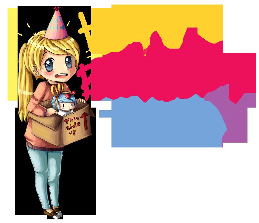 Birthday Giftie for Twinsie! c: by xJewiex