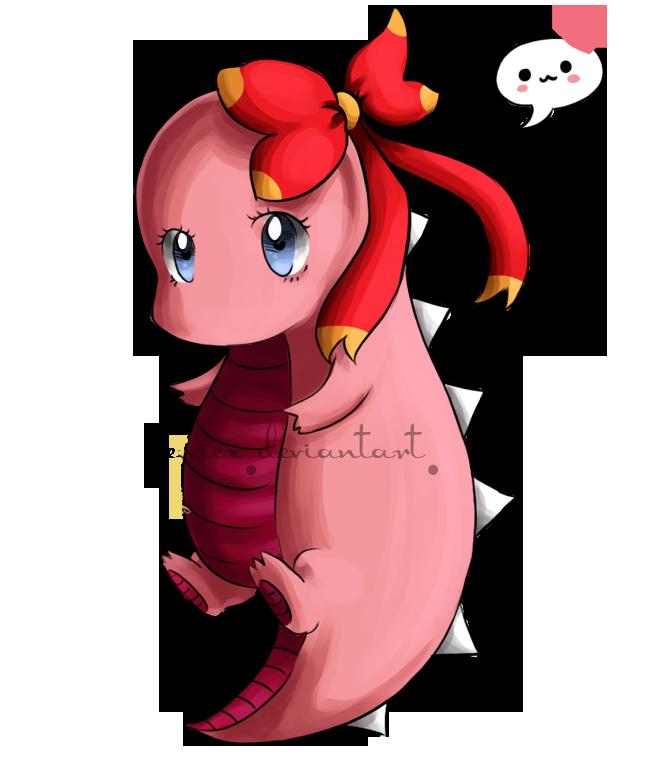 Sarah the Dinosaur by xJewiex