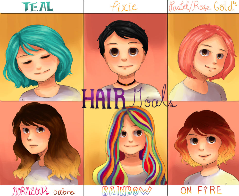 Hair goals by Jewieee