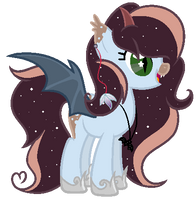 Pony (Bat) Auction 15# [CLOSED] by Pikadopts