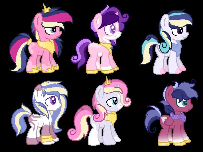 My Little Pony Princess Cadence And Shining Armor Baby