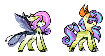 CMSF - Thorax x Flurry Heart by Pikadopts