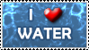 I love water stamp by VisAnastasis