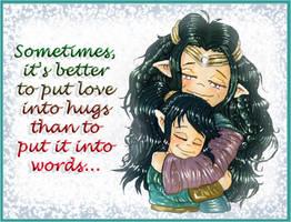 Words mean nothing in love... by VisAnastasis