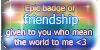 Epic badge of friendship by VisAnastasis