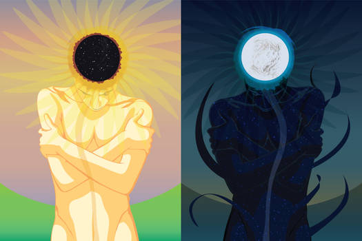 Yin and yang of summer and winter solstice