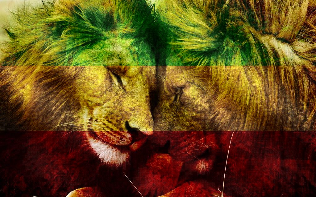 rastafarian lion wallpaper - photo #14