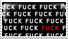 FUCK stamp of FUCK by Daakukitsune
