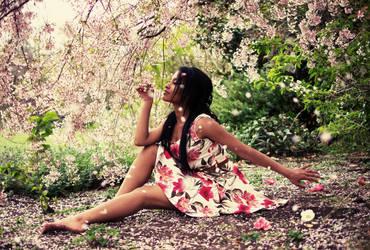 Cherry Blossom by tifa-X